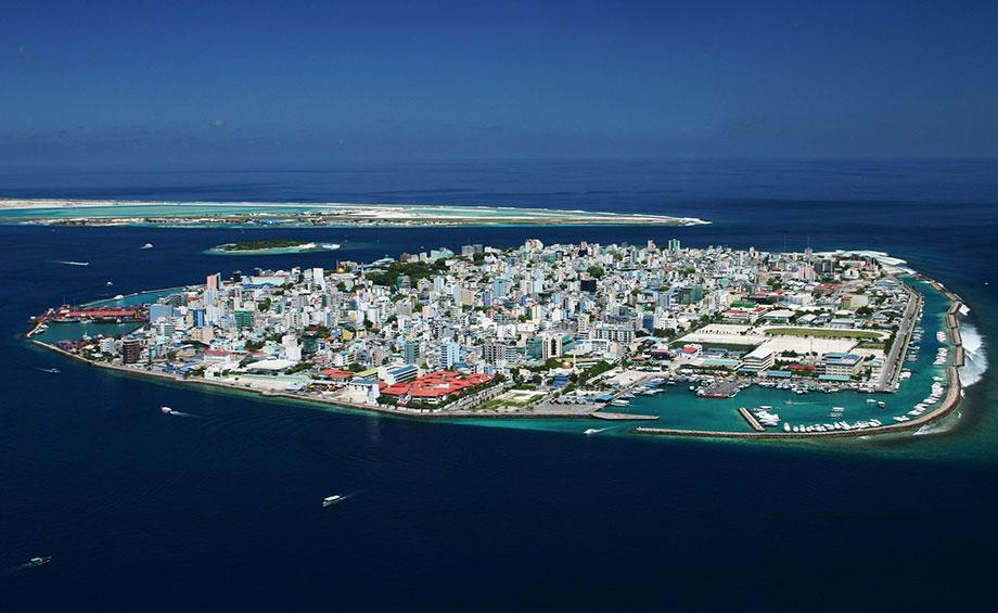 Malé, capital de Maldivas