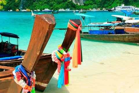 Experiencia flotante y playas de Phuket