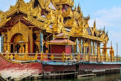 Encantos de Myanmar en privado